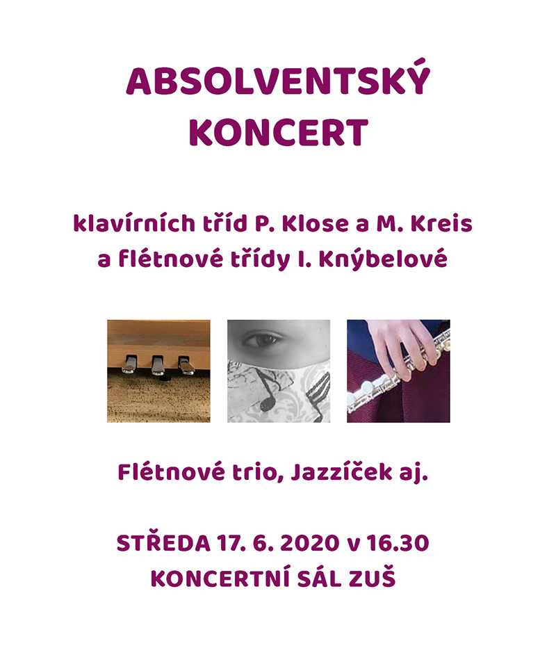absolventský koncert 1